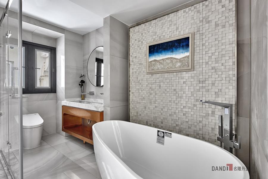 别墅 新古典 卫生间图片来自名雕丹迪在纯水岸--新古典主义--600平的分享