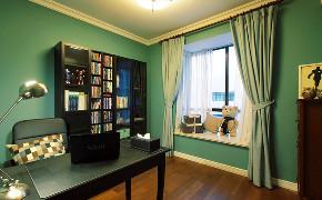 简约 美式 休闲 二居 混搭 收纳 小资 书房图片来自众意装饰 李潇在曲江龙邸美式风格的分享