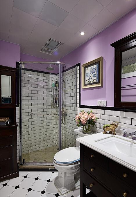 简约 现代 美式 二居 收纳 小资 白领 别墅 卫生间图片来自众意装饰 李潇在曲江香都现代美式风格的分享