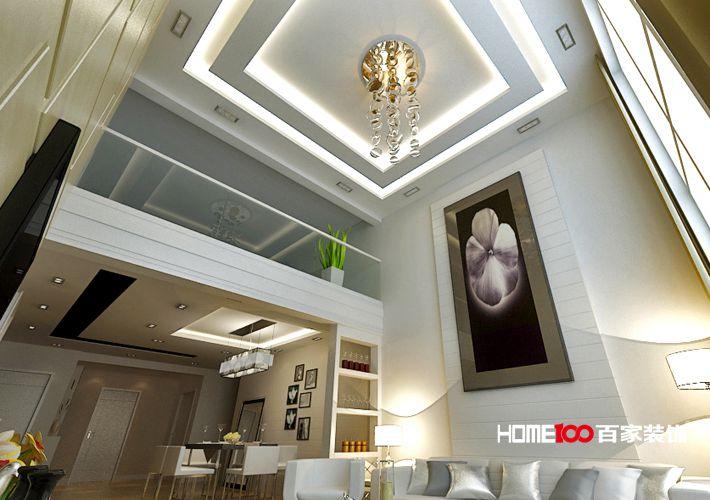 客厅 餐厅图片来自百家装饰小西在阳光100 151平现代风格的分享