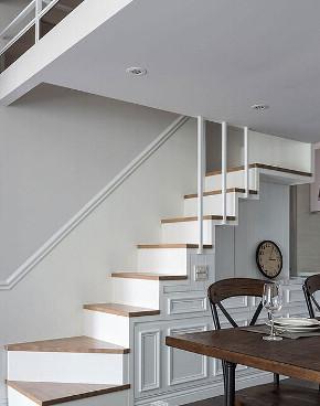 别墅 简约 英伦风格 英式 小资 楼梯图片来自众意装饰 李潇在紫汀苑跃层英式风格的分享