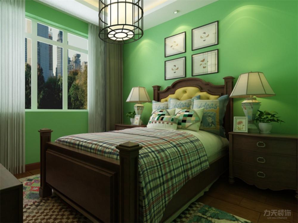新中式 中式 三居 白领 小资 卧室图片来自阳光放扉er在力天装饰-时光里-121㎡-新中式的分享
