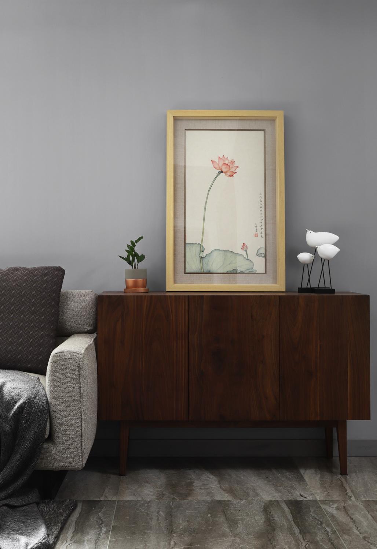 客厅图片来自云行设计-邢芒芒在观悦丨有仪式感的家的分享