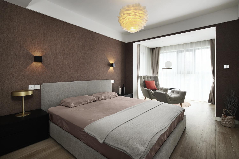 卧室图片来自云行设计-邢芒芒在观悦丨有仪式感的家的分享