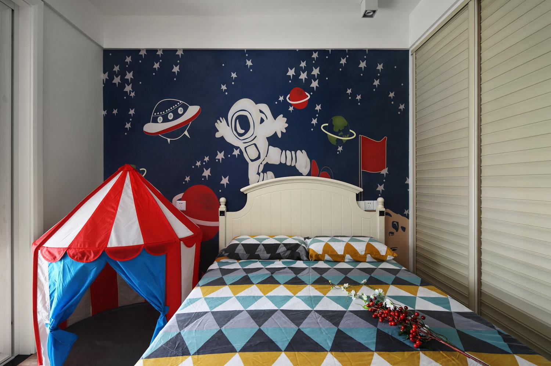 儿童房图片来自云行设计-邢芒芒在观悦丨有仪式感的家的分享