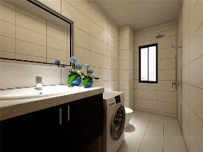 简约 现代 二居 收纳 小资 卫生间图片来自阳光放扉er在力天装饰-远洋城-130㎡-现代简约的分享