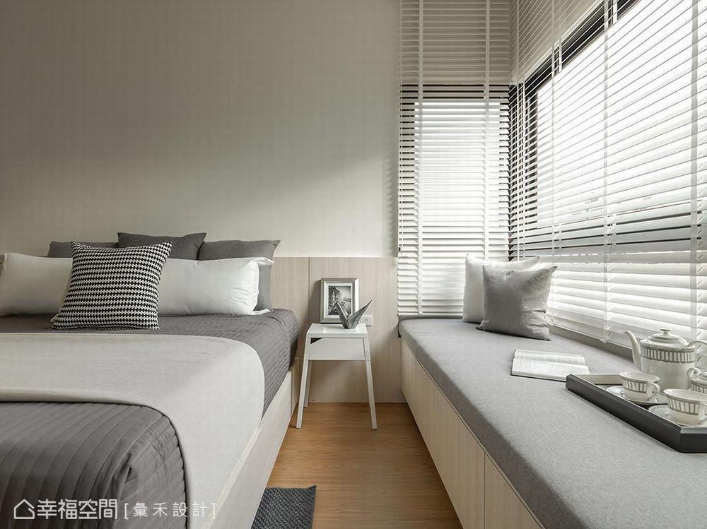 卧室图片来自幸福空间在轻柔北欧 99平唯美清透日光居的分享