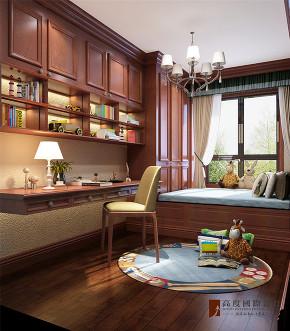 新古典 三居 四居 大户型 80后 小资 儿童房图片来自高度国际姚吉智在160平米气度非凡的新古典大平层的分享