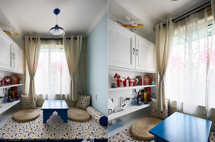 简约 地中海 三居 收纳 80后 小资 书房图片来自众意装饰 李潇在金地南湖艺境地中海风格的分享