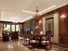 新古典 三居 四居 大户型 80后 小资 餐厅图片来自高度国际姚吉智在160平米气度非凡的新古典大平层的分享