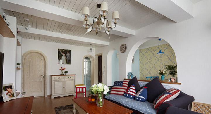 简约 地中海 三居 收纳 80后 小资 客厅图片来自众意装饰 李潇在金地南湖艺境地中海风格的分享