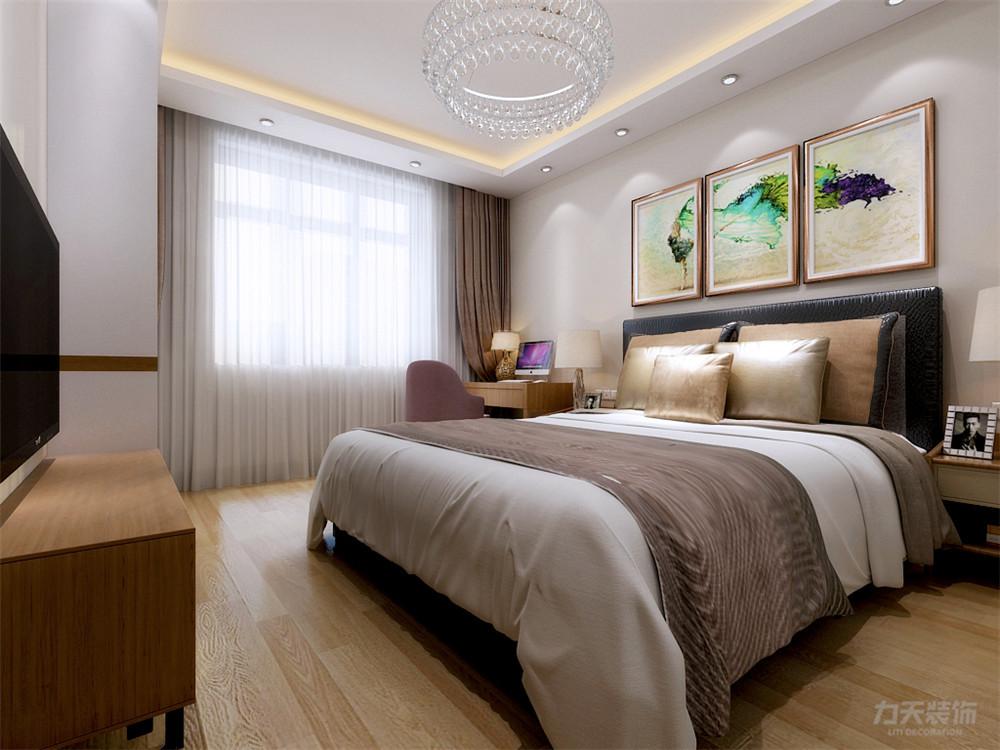 简约 现代 二居 收纳 小资 卧室图片来自阳光放扉er在力天装饰-育才里-72㎡-现代简约的分享