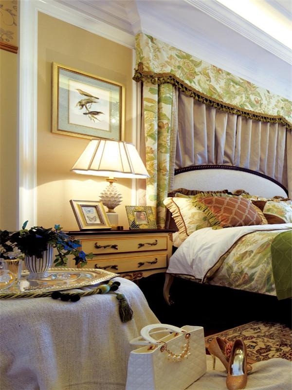 欧式 三居 大户型 白领 80后 小资 收纳 卧室图片来自高度国际姚吉智在140平米欧式骨子里的优雅与尊贵的分享