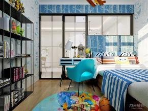 简约 现代 二居 收纳 小资 儿童房图片来自阳光放扉er在力天装饰-育才里-72㎡-现代简约的分享