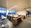 深圳物质大厦办公顶层灯光设计