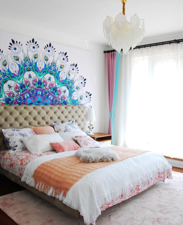 简约 现代 誉天下 别墅 小资 80后 卧室图片来自别墅设计师杨洋在誉天下别墅软装设计现代休闲风格的分享