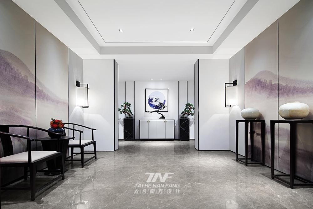冠亚宽庐 别墅设计 王五平设计 豪宅设计 玄关图片来自乐粉_20180511102030523在默认专辑的分享