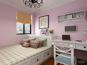 北欧 欧式 二居 白领 小资 卧室图片来自阳光放扉er在力天装饰-欧铂城-76㎡-北欧风格的分享