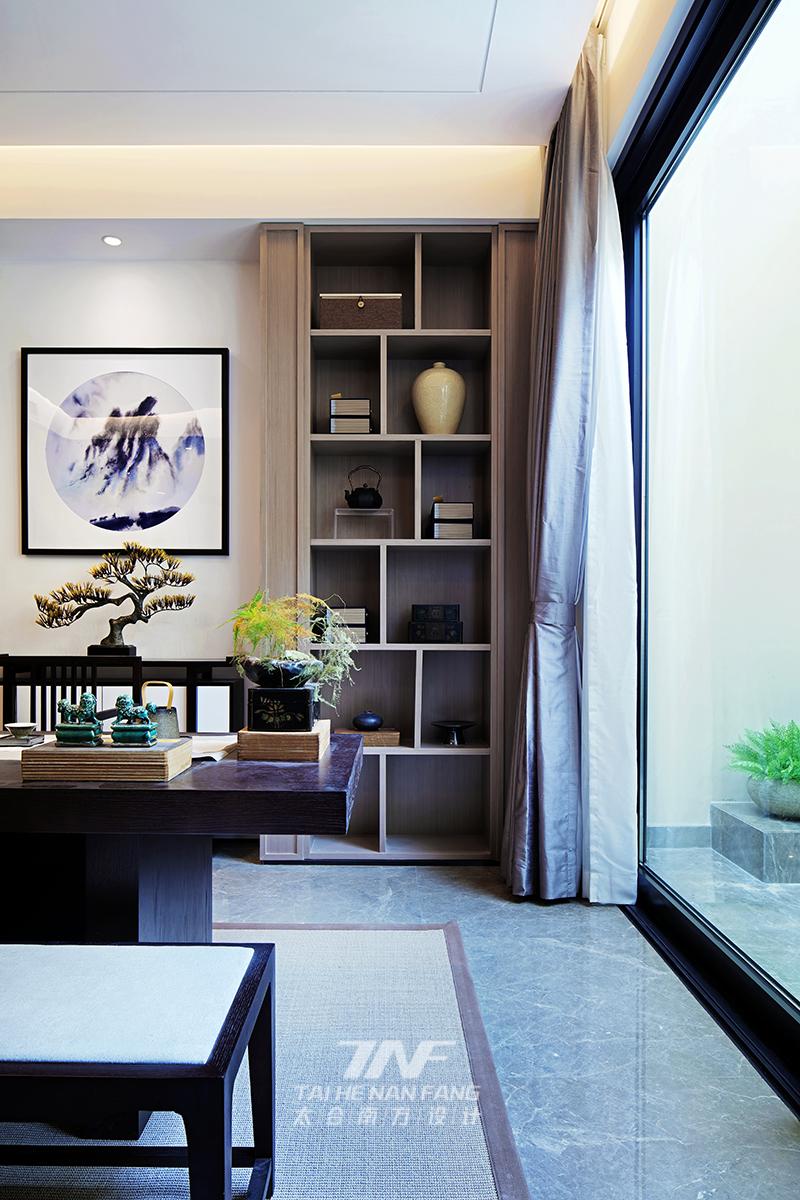 冠亚宽庐 别墅设计 王五平设计 豪宅设计 书房图片来自乐粉_20180511102030523在默认专辑的分享