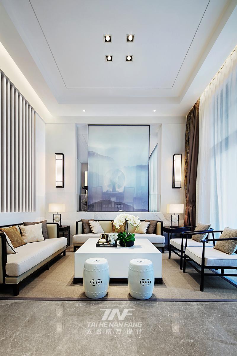 冠亚宽庐 别墅设计 王五平设计 豪宅设计 客厅图片来自乐粉_20180511102030523在默认专辑的分享