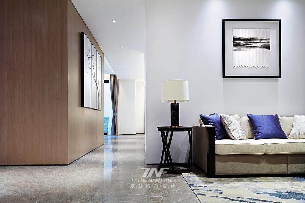 冠亚宽庐 别墅设计 王五平设计 豪宅设计 客厅图片来自王五平设计在柳州冠亚宽庐双拼别墅样板房设计的分享