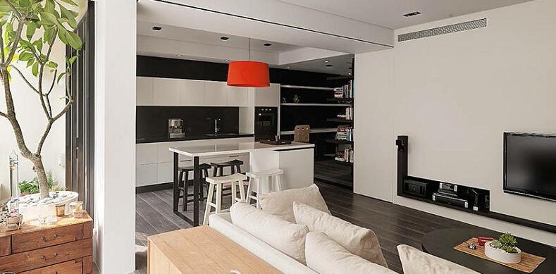 简约 三居 收纳 白领 80后 小资 客厅图片来自众意装饰 李潇在中航华府简约风格的分享