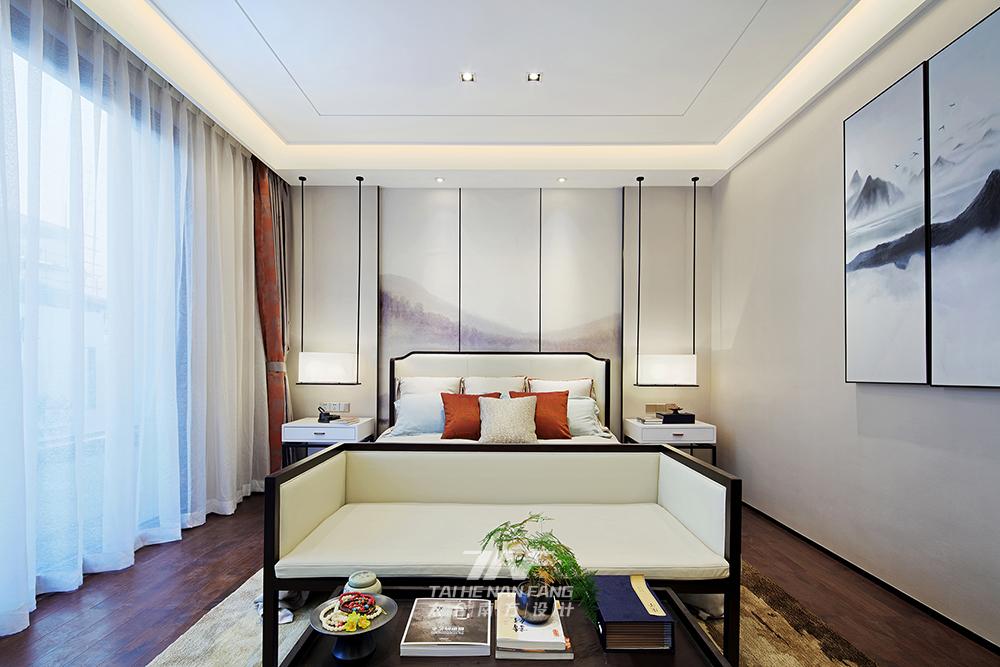 冠亚宽庐 别墅设计 王五平设计 豪宅设计 卧室图片来自乐粉_20180511102030523在默认专辑的分享