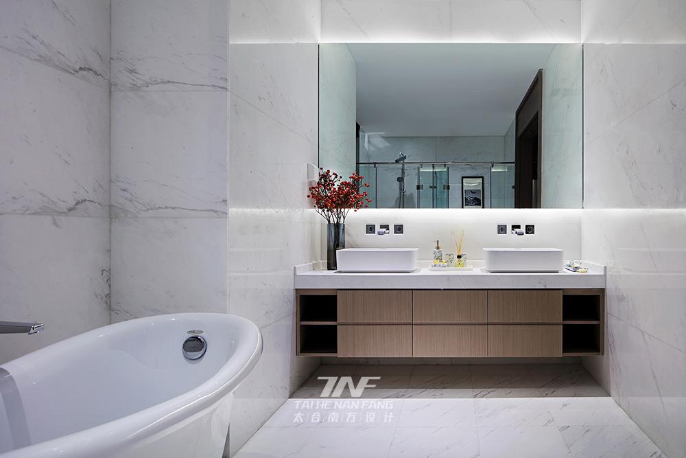 冠亚宽庐 别墅设计 王五平设计 豪宅设计 卫生间图片来自乐粉_20180511102030523在默认专辑的分享