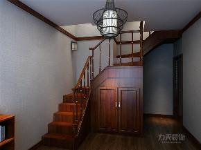 中式 新中式 三居 收纳 小资 玄关图片来自阳光力天装饰在力天装饰-港西新城-150㎡-中式的分享