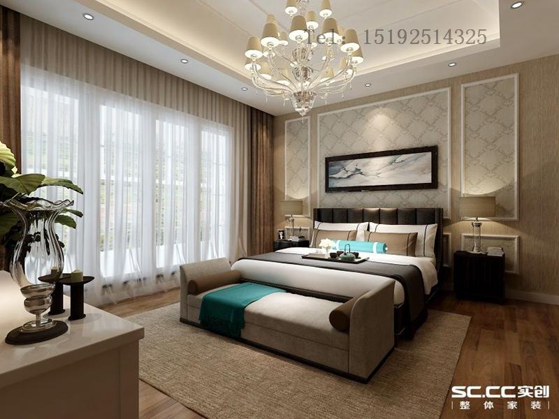 别墅 简约 长水山庄 卧室图片来自快乐彩在长水山庄236平别墅装修设计的分享