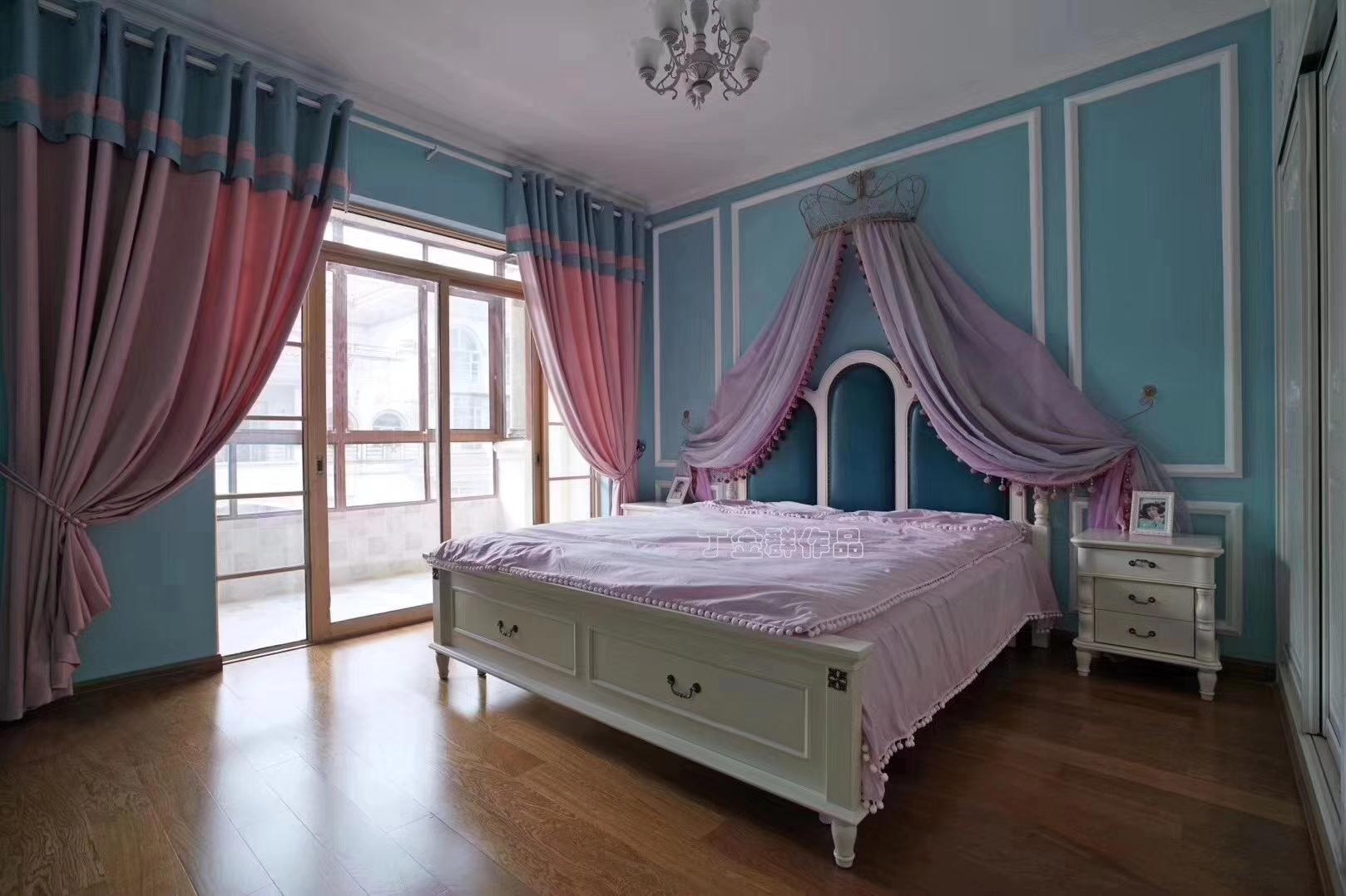 别墅 卧室图片来自金煌装饰有限公司在大女主时代简欧风格的分享