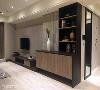 采系统柜取代木工技术,透过柜体及板材打造立面活泼、具设计感的陈设,同时亦可缩短施工时程与经费。