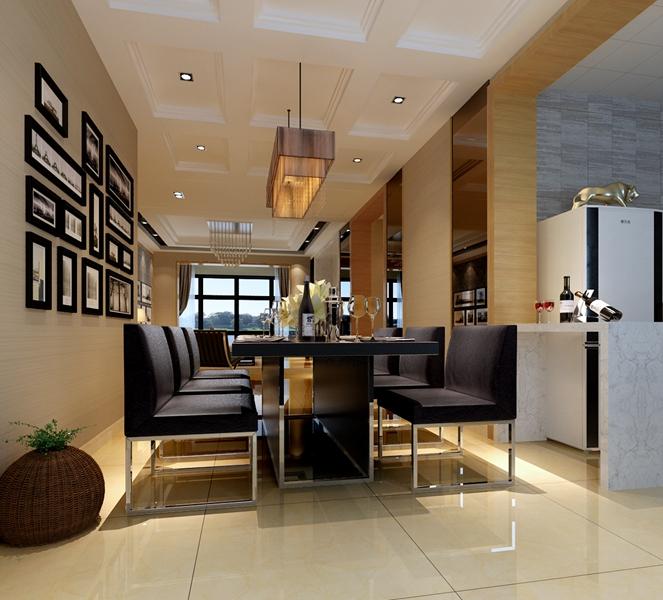 餐厅图片来自我是小样在青城三室116平现代简约风格的分享