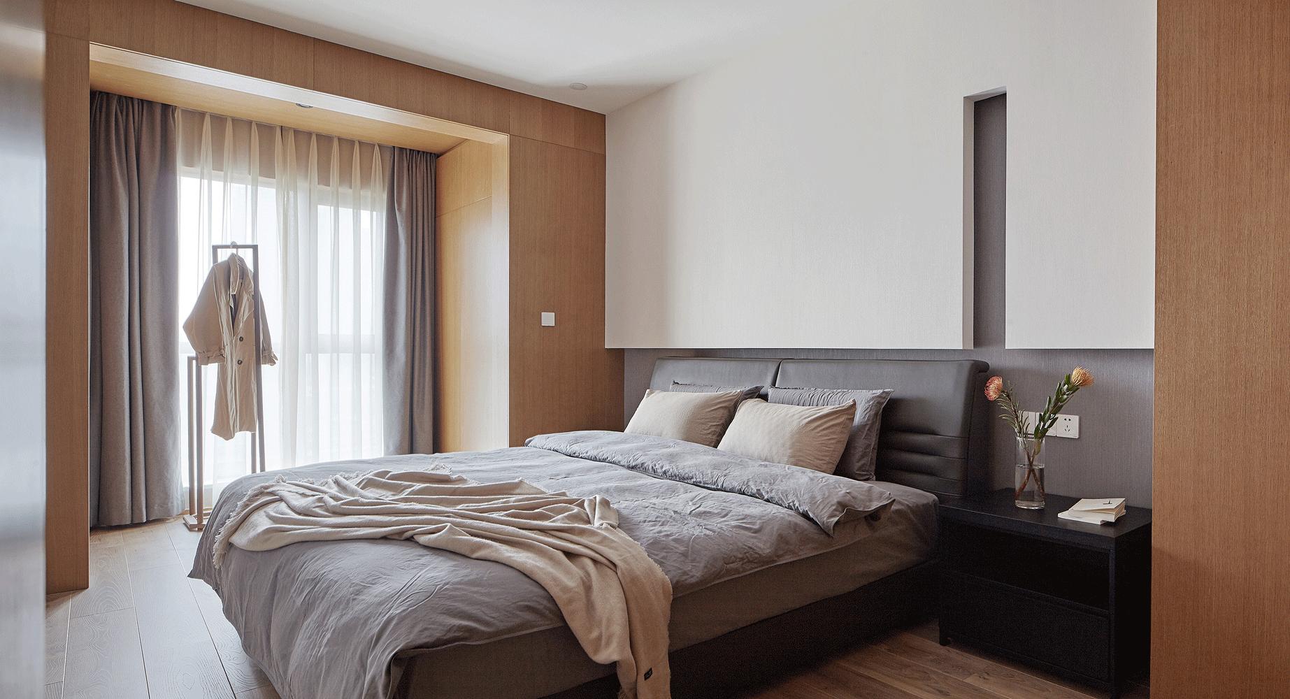 简约 佛系 MUJI风 卧室图片来自尚舍设计在朴简练,MUJI生活方式的分享