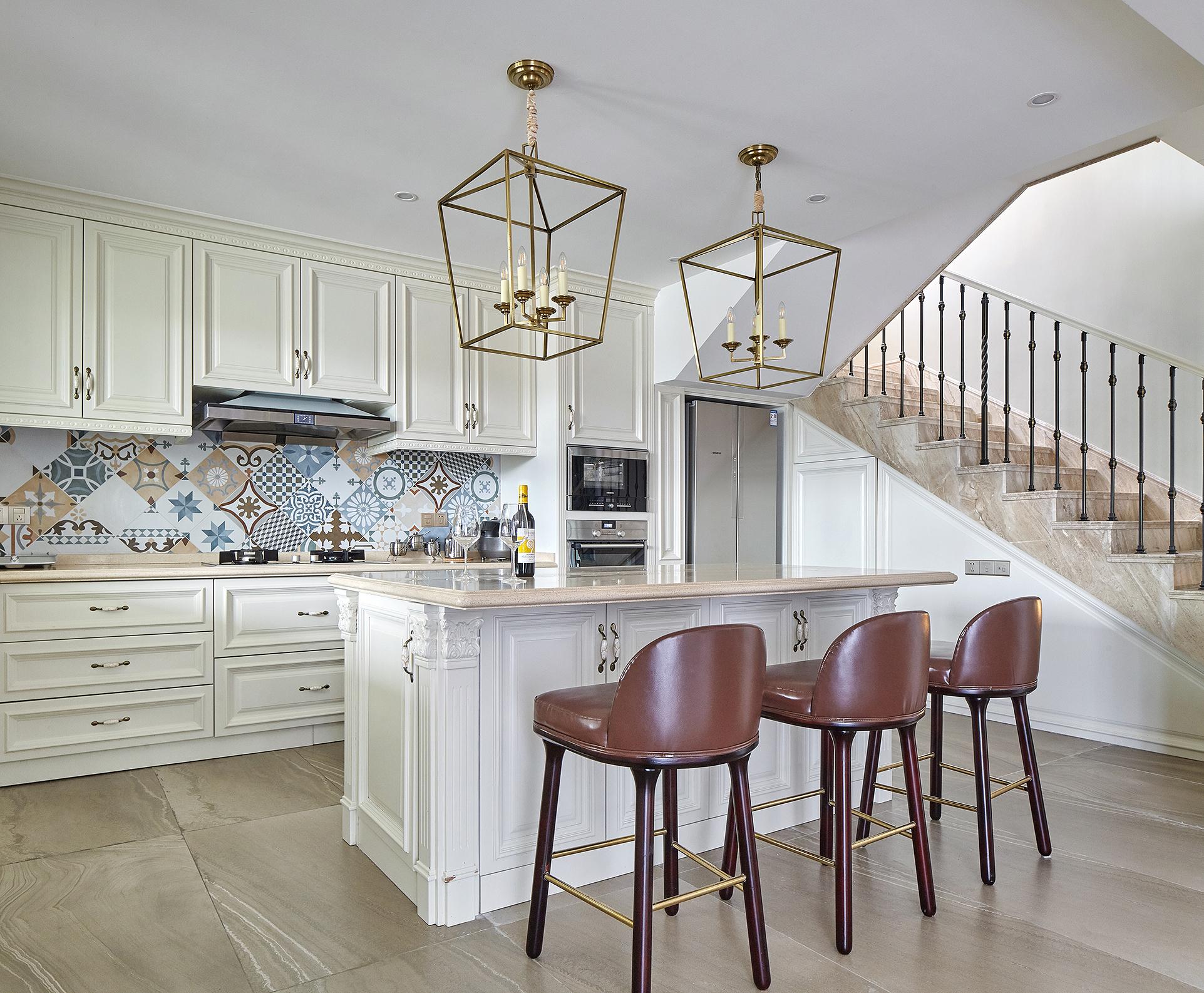 欧式 别墅 厨房图片来自尚舍设计在半山,把自然还给生活。的分享
