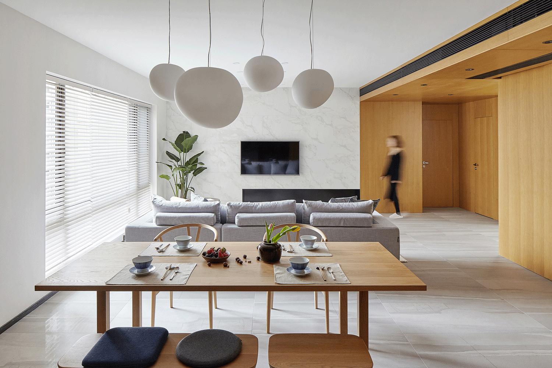 简约 佛系 MUJI风 客厅图片来自尚舍设计在朴简练,MUJI生活方式的分享