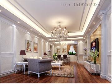 秀兰喜悦都105平三居室装修设计