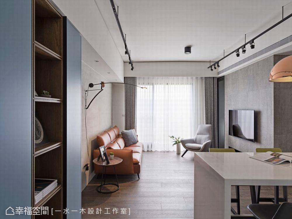 三居 小户型 工业风 餐厅图片来自幸福空间在微工业生活感 63平三代温馨宅的分享