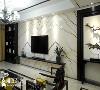 客厅空间,以城市印象为主要延伸线索。