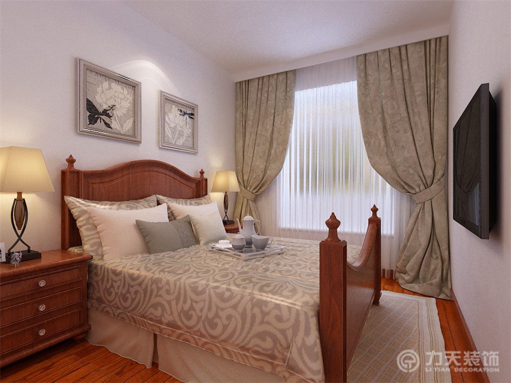 简约 现代 三居 白领 收纳 80后 卧室图片来自阳光放扉er在力天-津南新城120㎡-现代简约的分享