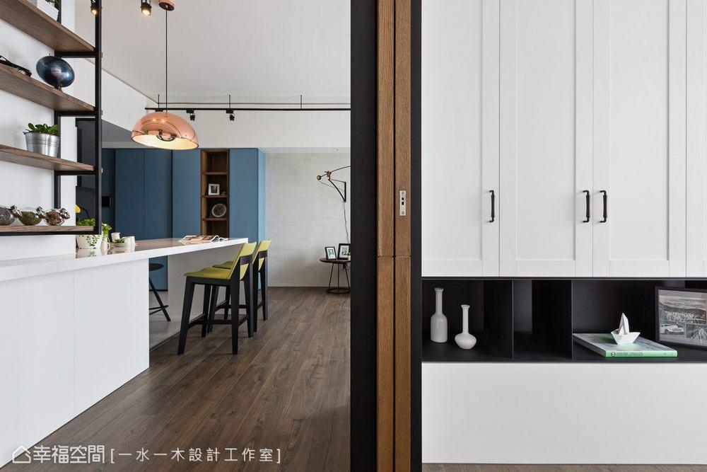 三居 小户型 工业风 其他图片来自幸福空间在微工业生活感 63平三代温馨宅的分享
