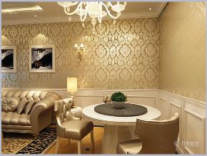 二居 白领 80后 小资 新古典 餐厅图片来自阳光放扉er在力天装饰-亚泰澜公馆85㎡-新古典的分享