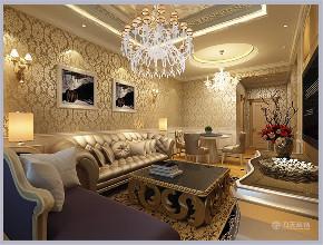 二居 白领 80后 小资 新古典 客厅图片来自阳光放扉er在力天装饰-亚泰澜公馆85㎡-新古典的分享