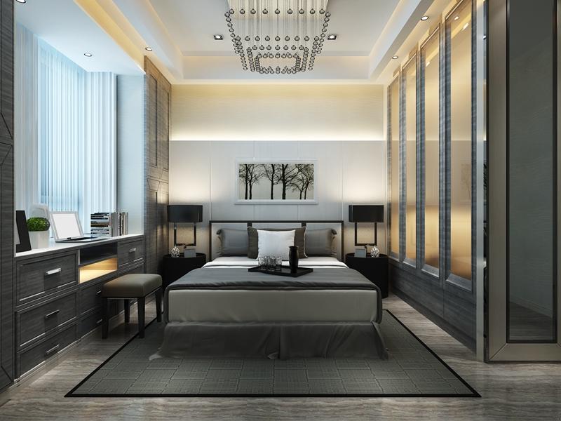 卧室图片来自我是小样在梧桐年华三室127平现代简约风格的分享