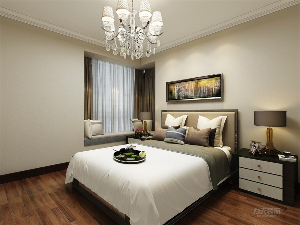 简约 现代 二居 白领 小资 卧室图片来自阳光放扉er在力天装饰-凌福郡庭-69㎡-现代的分享