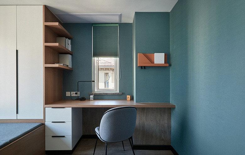 卧室图片来自家装大管家在冷静与热情 105平现代时尚混搭居的分享