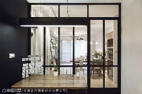 三居 田园 书房图片来自幸福空间在轻柔特调 92平法式花园飨宴的分享