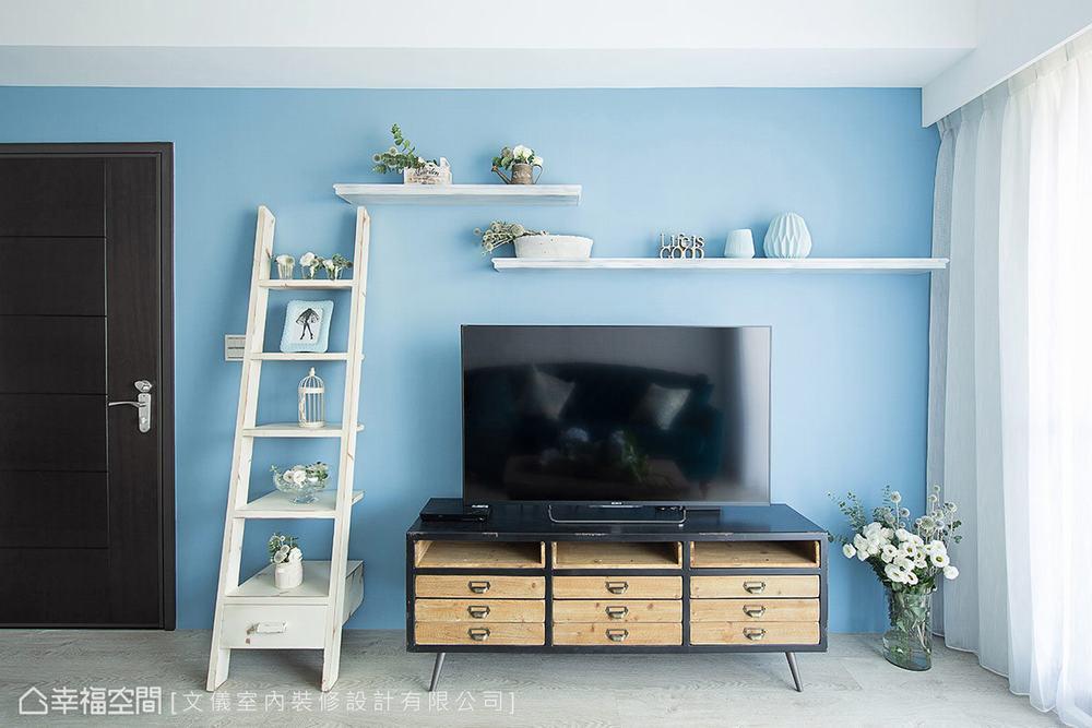 三居 田园 客厅图片来自幸福空间在轻柔特调 92平法式花园飨宴的分享