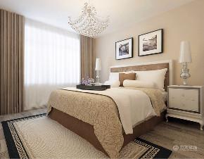 新古典 二居 白领 收纳 80后 小资 卧室图片来自阳光放扉er在力天-远洋万和城124㎡-新古典的分享