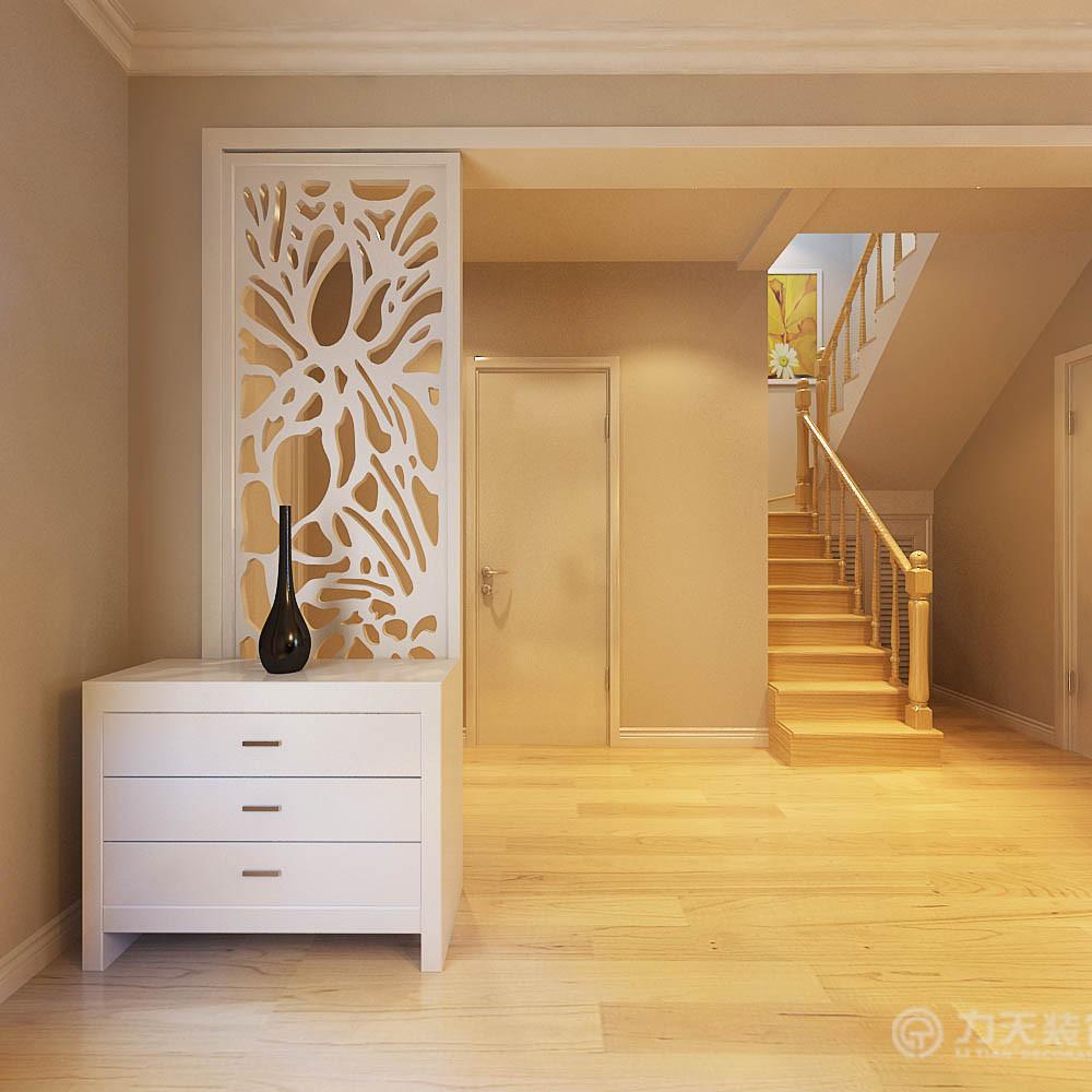 简约 现代 四室 80后 白领 收纳 玄关图片来自阳光力天装饰在力天装饰-尚清湾185㎡现代简约的分享
